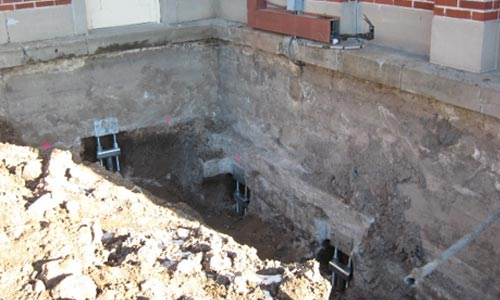 Helical Pile Foundations For New And Old Commercialresidential Projects - Under-pinning-foundations
